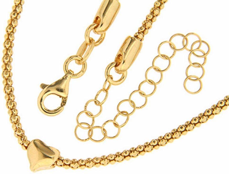 Firetti Silberkette in Silber 925-goldfarben