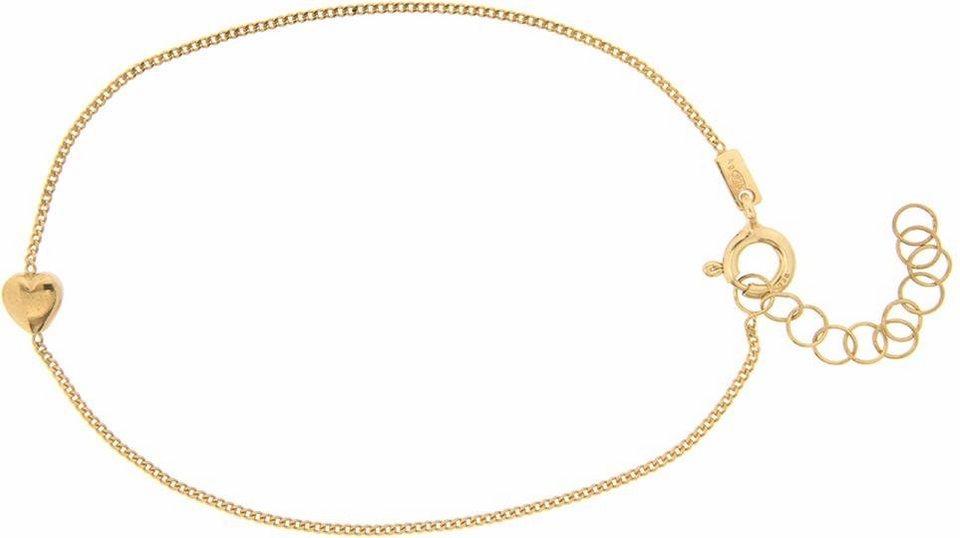 Firetti Armband »Herz« in Silber 925-silberfarben
