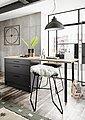 set one by Musterring Küchenbar »Nashville«, Küchenbar ohne Geräte, Stellbreite 180x90 cm, mit Metallgriffen, Bild 2