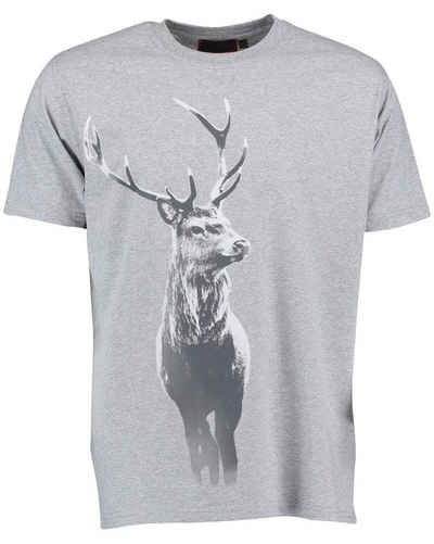 Reitmayer T-Shirt »T-Shirt mit Hirschdruck«