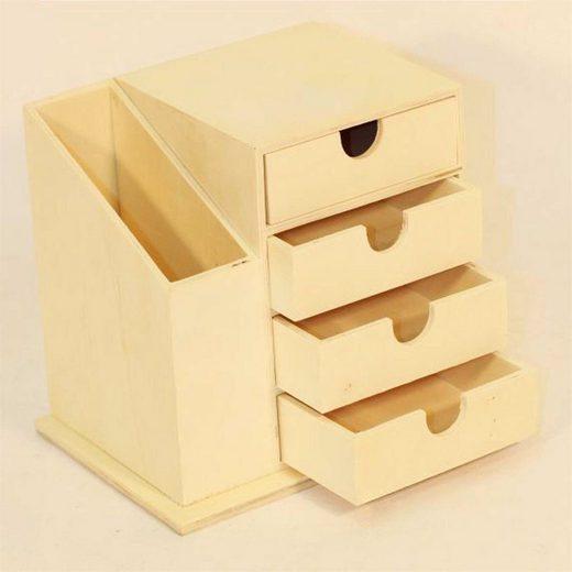 HTI-Living Aufbewahrungsbox »Büro Set Holz Büro Set Holz«, Büroset