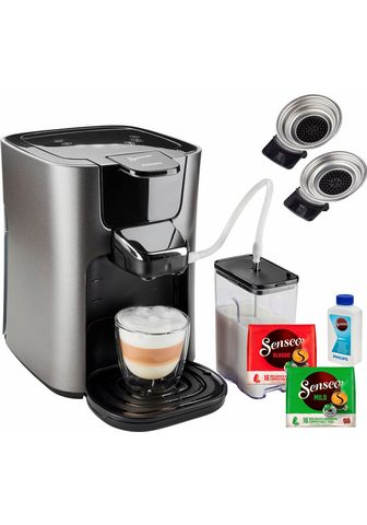 Senseo Kaffeepadmaschine HD6574/50 Latte Duo ...