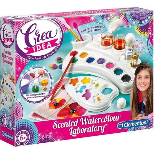 Clementoni® Malvorlage »Crea Idea - Duftende Wasser-Farben«