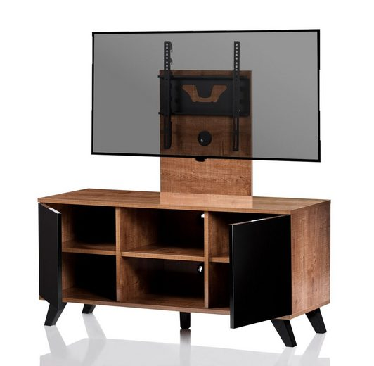 vcm tv lowboard mit halterung ultimate milano optik fernseh rack online kaufen otto. Black Bedroom Furniture Sets. Home Design Ideas