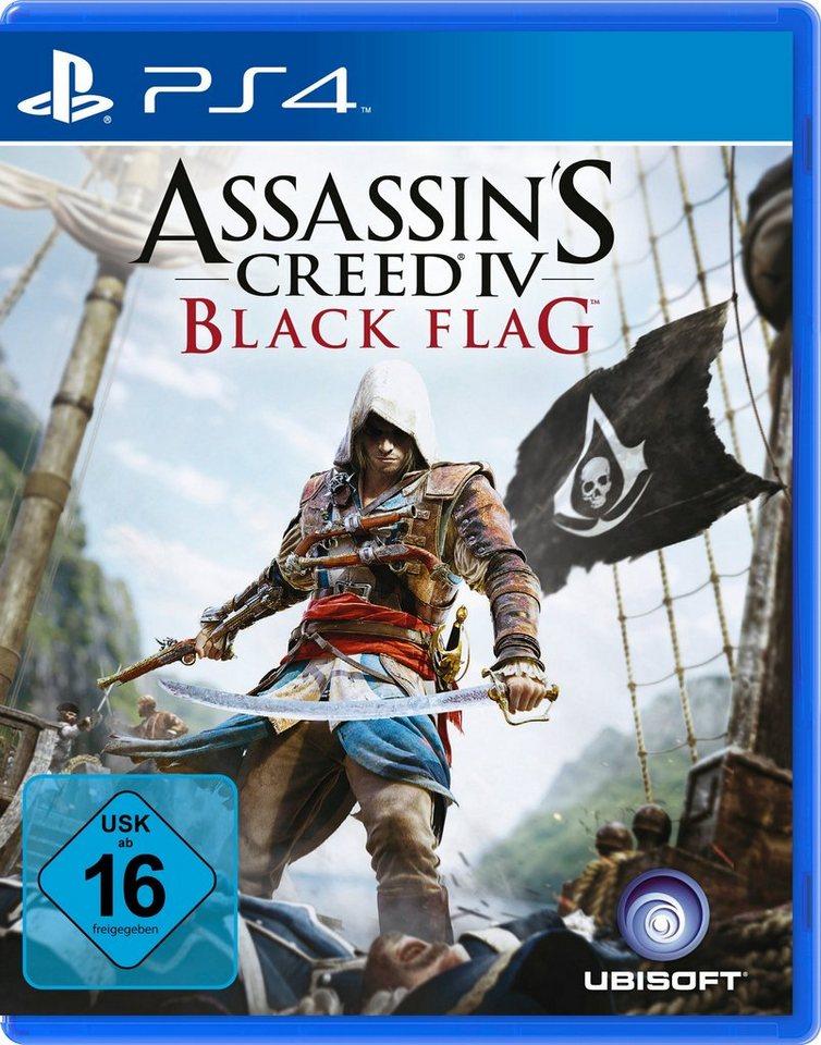 UBISOFT Software Pyramide - Playstation 4 Spiel »Assassin's Creed IV: Black Flag«