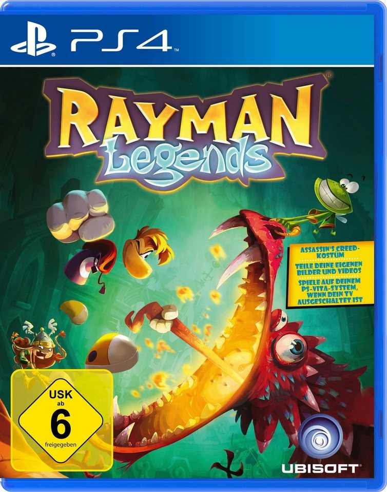 UBISOFT Software Pyramide - Playstation 4 Spiel »Rayman Legends«