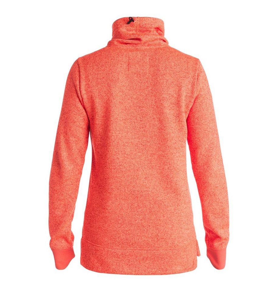 DC Shoes Riding Sweatshirt »Veneer« in Hot coral
