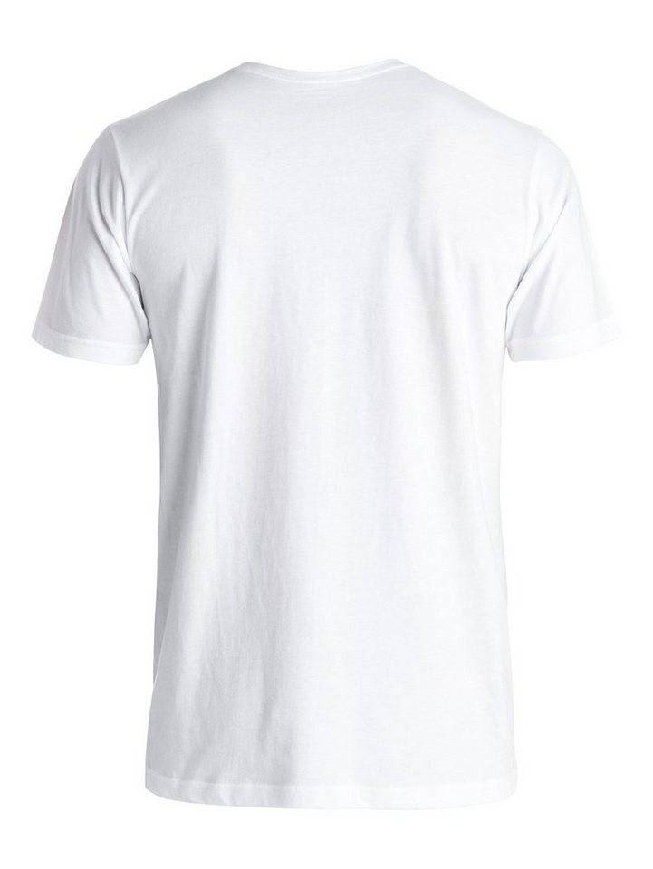 Quiksilver T-Shirt »Classic Fool Retina« in Bright white