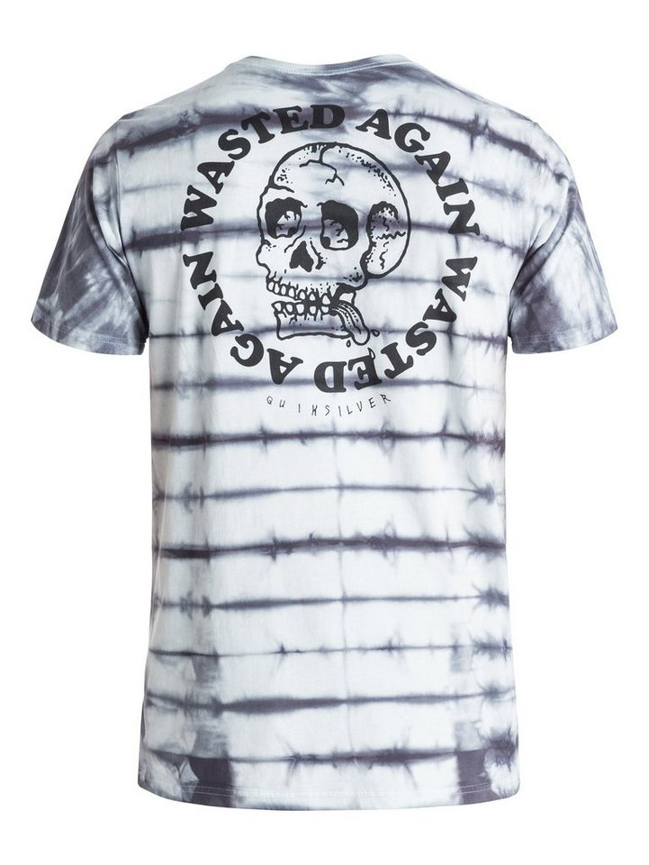 Quiksilver T-Shirt »Wasting Time« in nightshadow blue