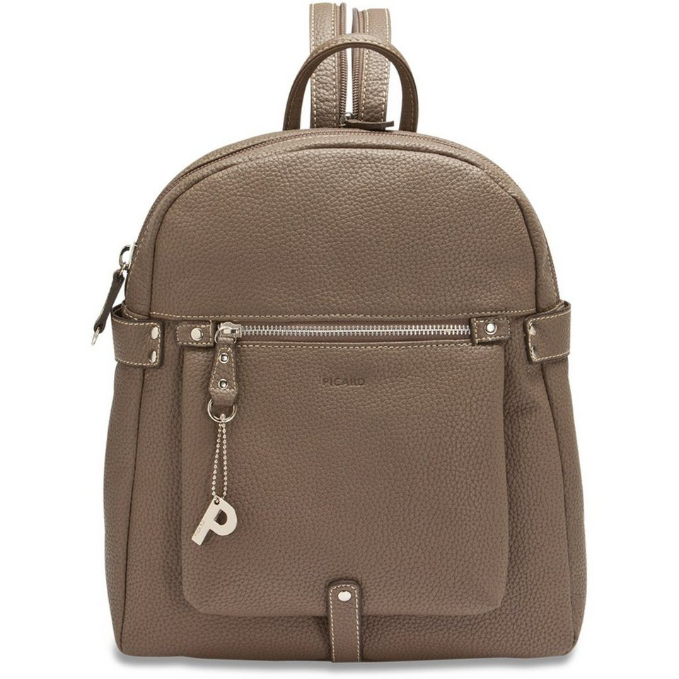 Picard Loire Rucksack 28 cm in taupe