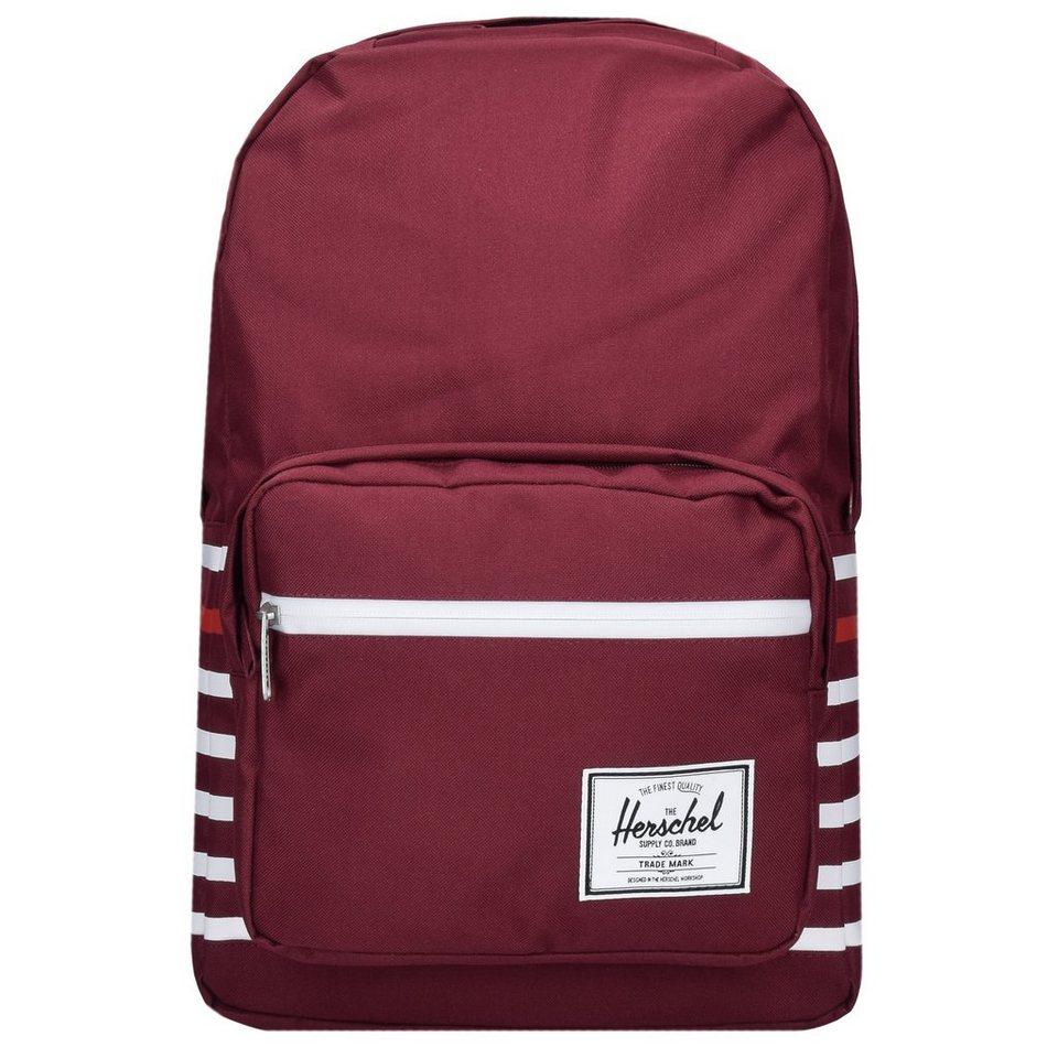 Herschel Pop Quiz Backpack Rucksack 45 cm Laptopfach in windsor wine offset