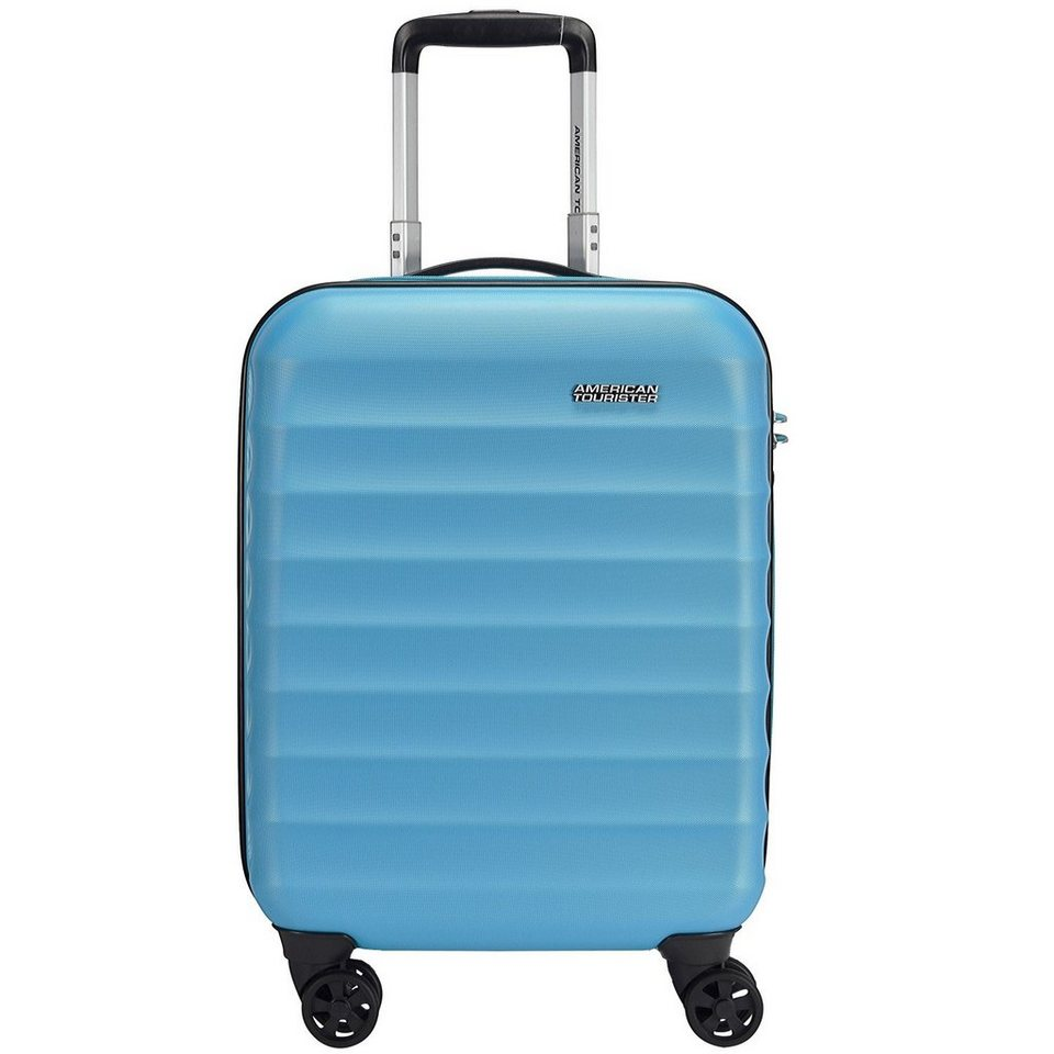 American Tourister Palm Valley Spinner 4-Rollen Kabinen-Trolley 55 cm in deep turquoise