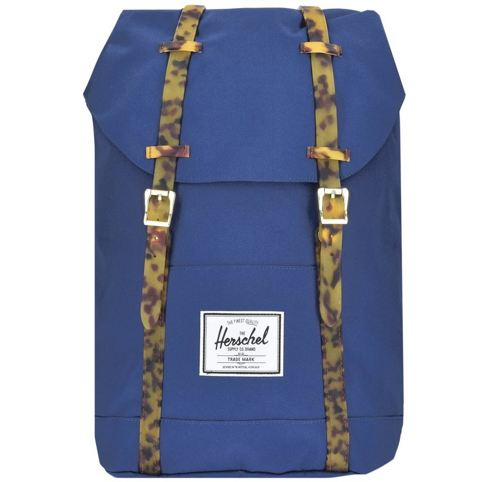 Herschel Retreat Backpack Rucksack 42 cm Laptopfach in twilight blue-tortoi