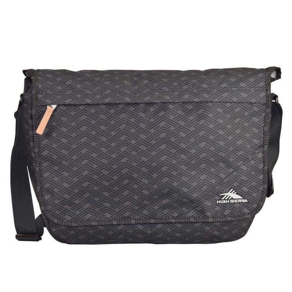 High Sierra Urban Packs Napels2 Messenger 44 cm Laptopfach in wave patterns black