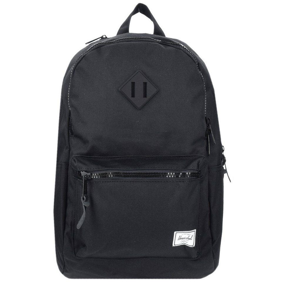 Herschel Lennox Backpack Rucksack 48 cm Laptopfach in black rubber