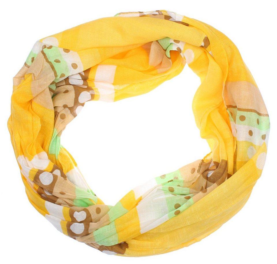 myMO Loop in gelb/weiß