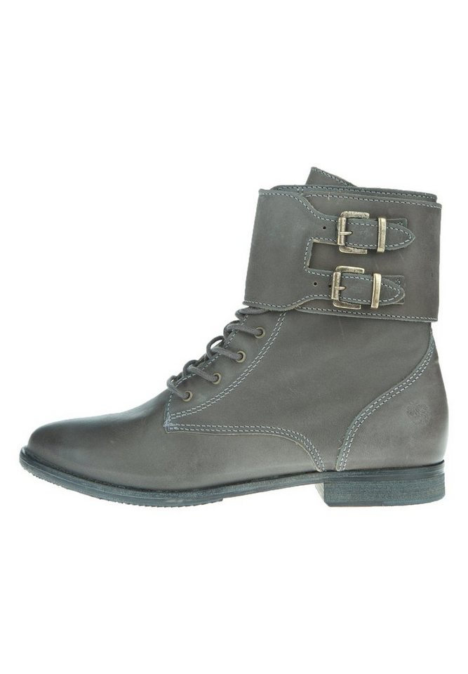 Apple of Eden Lederstiefel »BIG APPLE« in dark grey