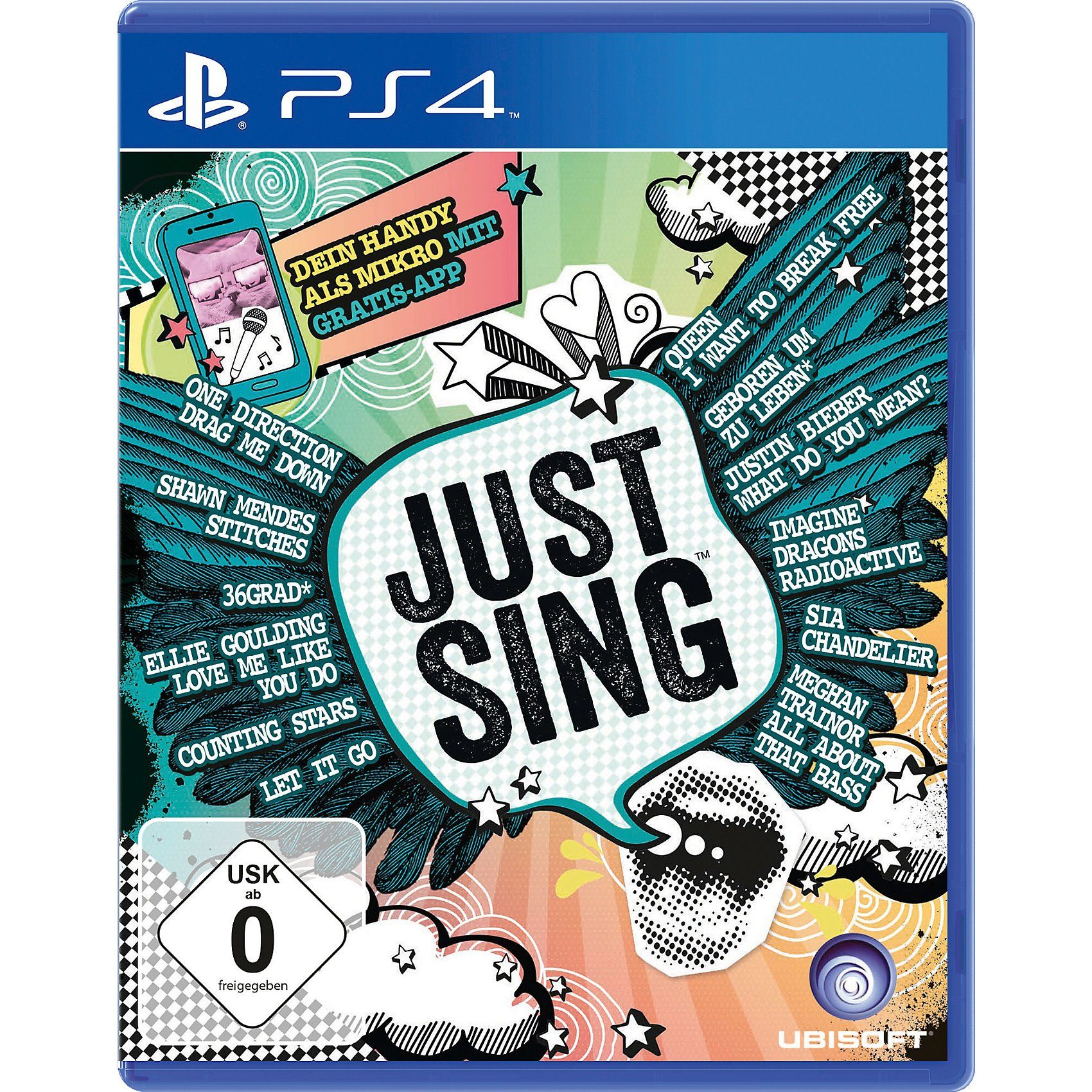 ak tronic PS4 Just Sing
