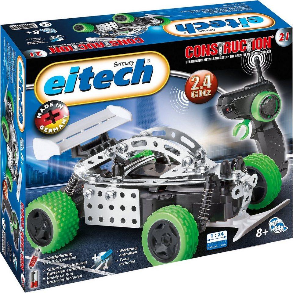 Eitech Metallbaukasten 2.4 GHZ RC Speed Racer
