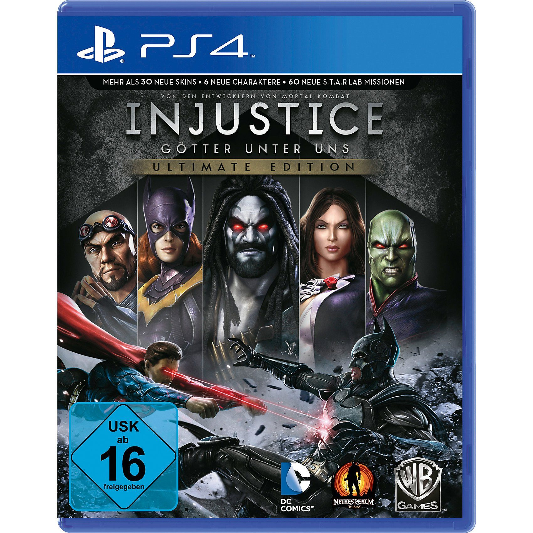 ak tronic PS4 Injustice-Götter unter uns Ultimate Edition