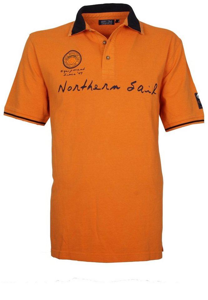 GCM Poloshirt in Orange