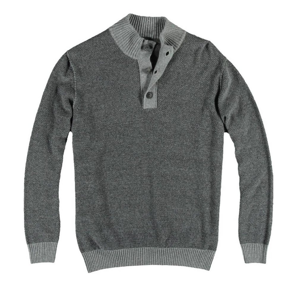 engbers Troyer-Pullover in Zementgrau