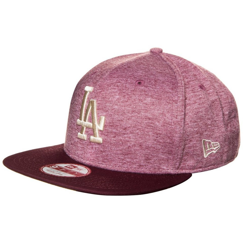 New Era 9FIFTY MLB Jersey Heather Los Angeles Dodgers Cap in bordeaux