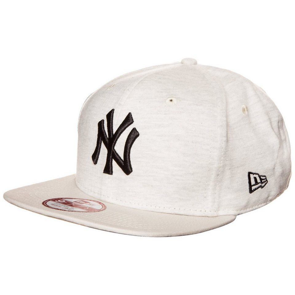New Era 9FIFTY MLB Jersey Heather New York Yankees Cap in beige