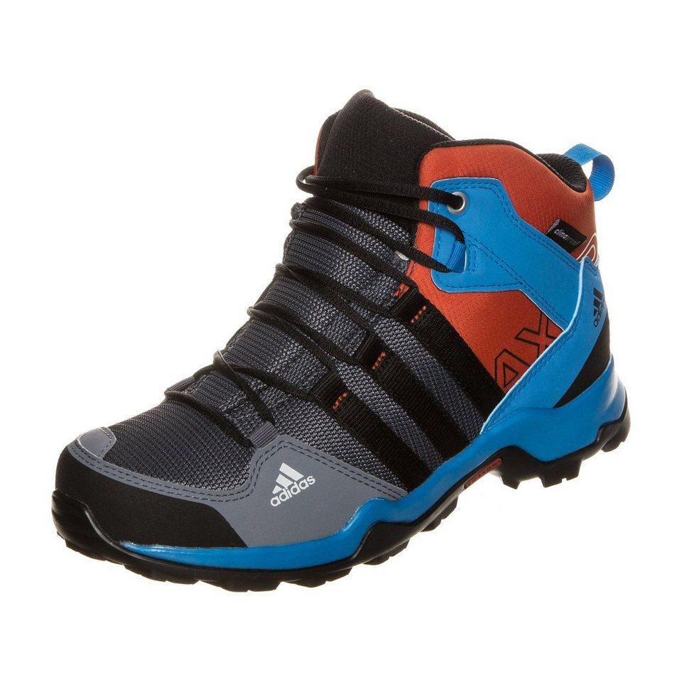 adidas Performance AX2 Mid ClimaProof Outdoorschuh Kinder in schwarz / rot / blau