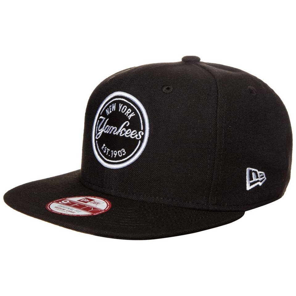 New Era 9FIFTY MLB Emblem Patch New York Yankees Cap in schwarz