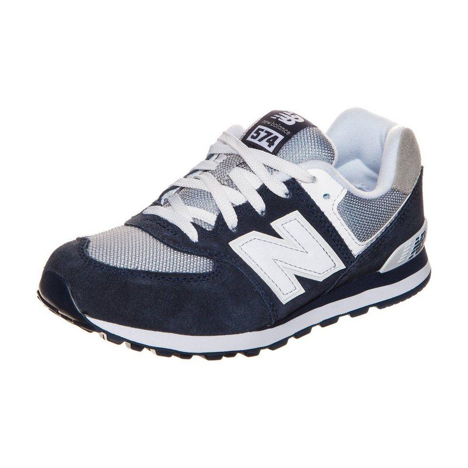 NEW BALANCE KL574-NWG-M Sneaker Kinder in dunkelblau / grau