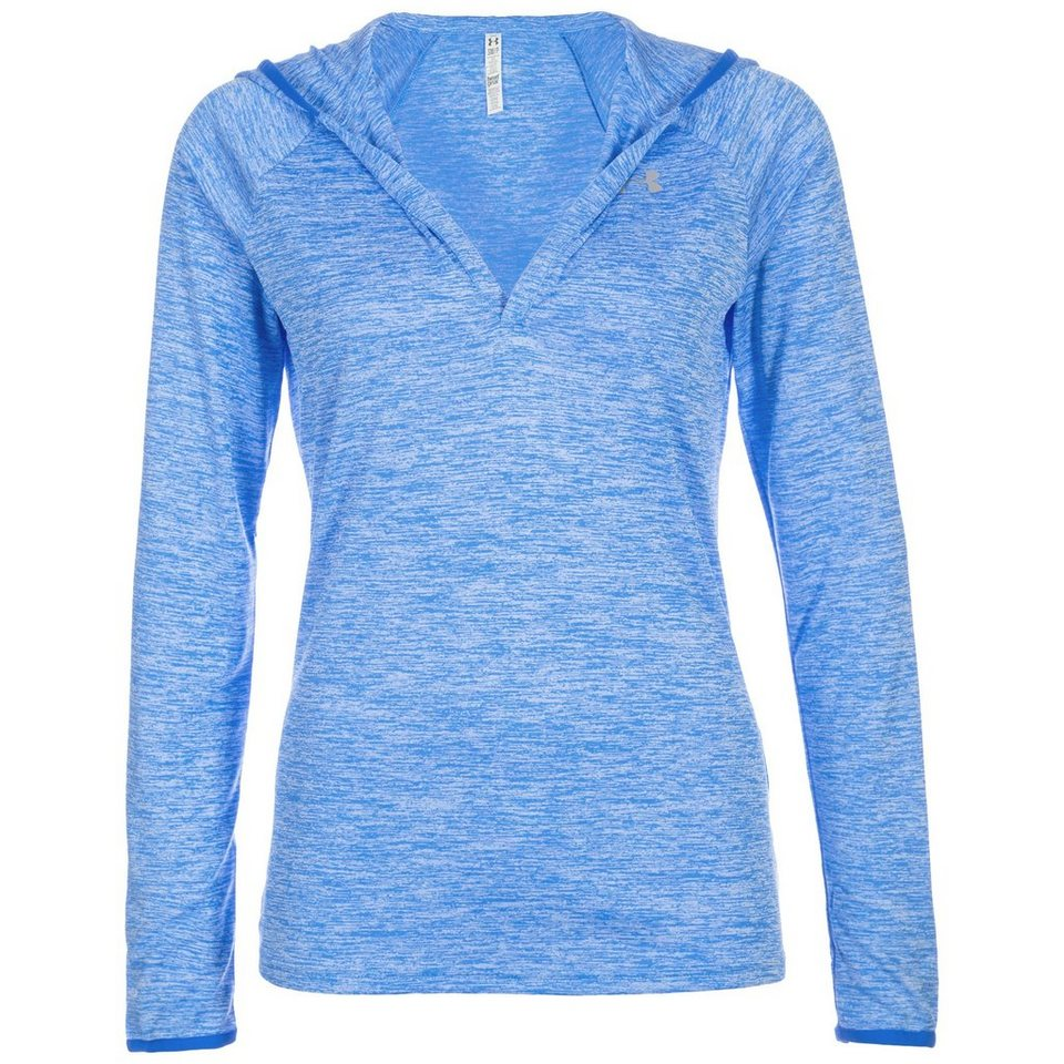 Under Armour® AllSeasonGear Twist Tech Trainingslongsleeve Damen in hellblau