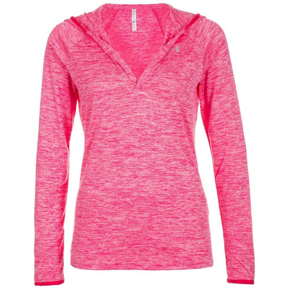 Under Armour® AllSeasonGear Twist Tech Trainingslongsleeve Damen in pink