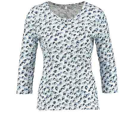 Gerry Weber T-Shirt 3/4 Arm »3/4 Arm Shirt aus Bio-Baumwolle«