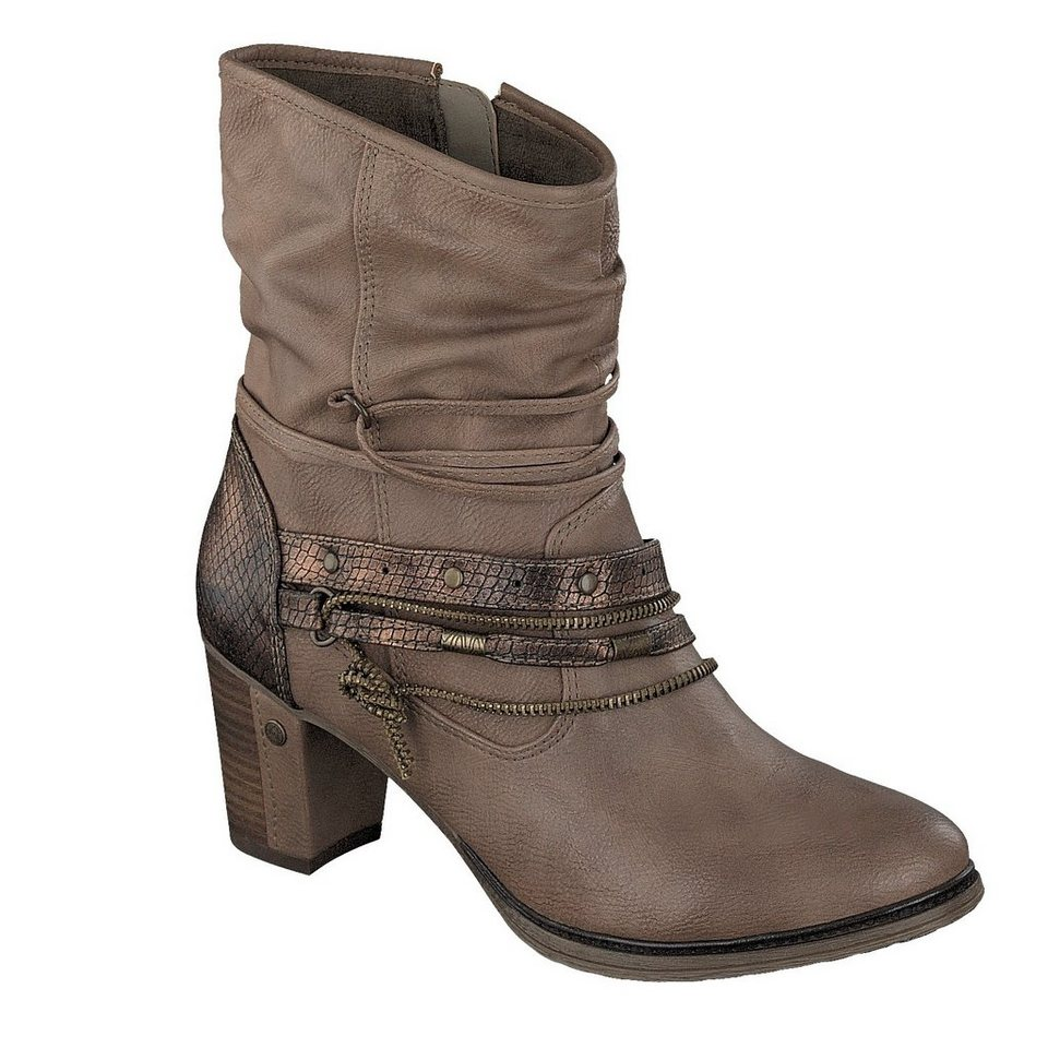 MUSTANG SHOES Stiefelette in natur