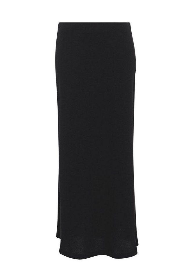 HALLHUBER Leicht ausgestellter Maxirock in schwarz