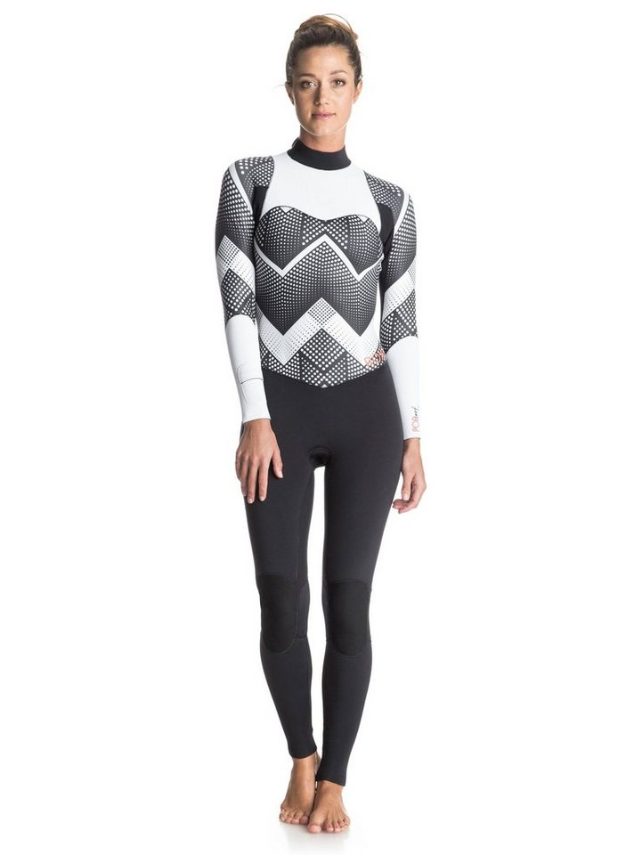Roxy Back Zip Wetsuit »Pop Surf 3/2mm« in Anthracite