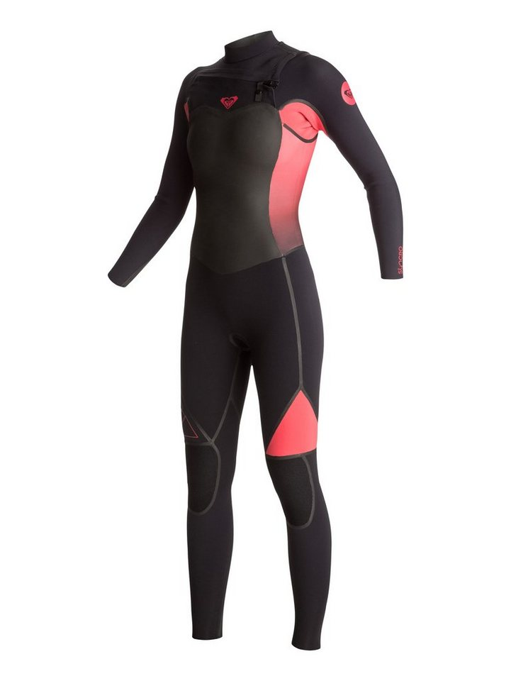 Roxy Chest Zip Wetsuit »Syncro 4/3mm« in Paradise pink