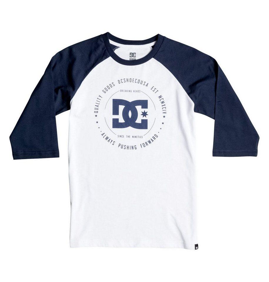 DC Shoes T-Shirt »Rebuilt Raglan« in Mazarine blue