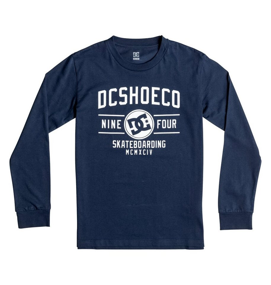 DC Shoes Longsleeve »Recover« in Mazarine blue