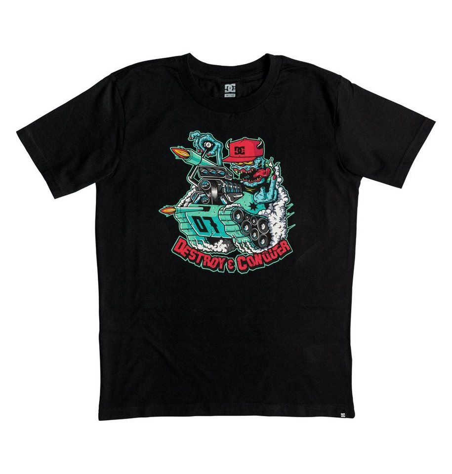 DC Shoes T-Shirt »Mr Tank« in Anthracite