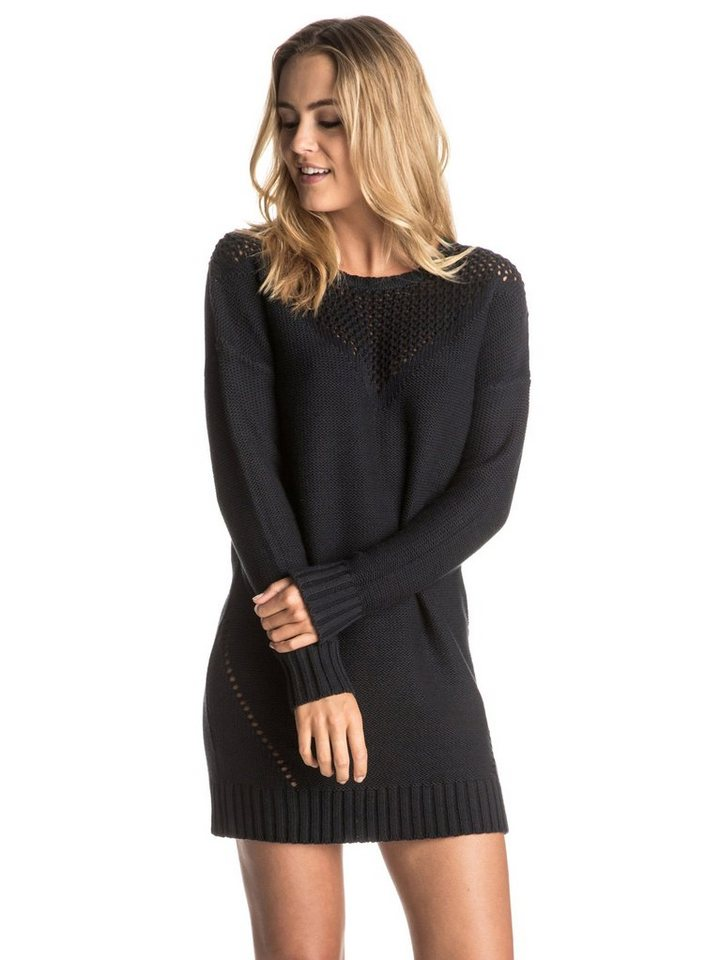 Roxy Sweater Dress »Lonely Sea« in Anthracite