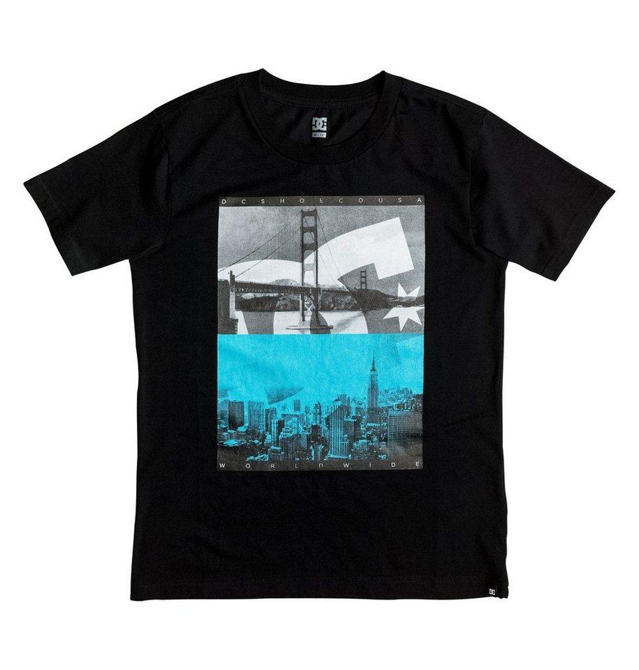 DC Shoes T-Shirt »Concave« in Mazarine blue