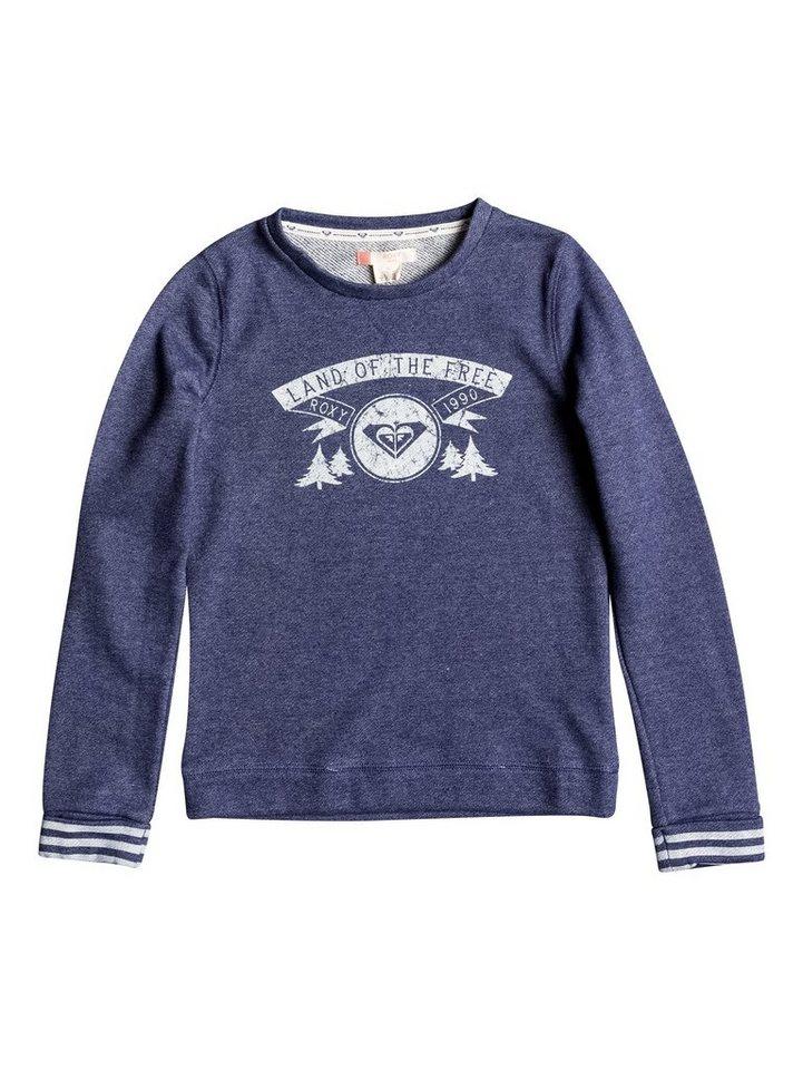 Roxy Sweatshirt »Under The Boardwalk A« in Blue print