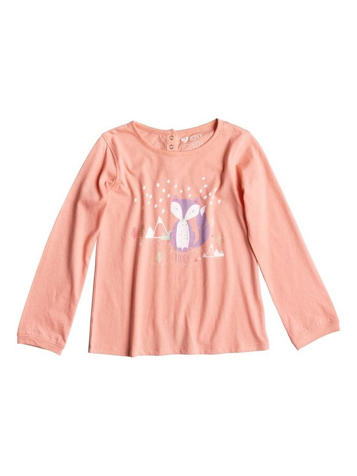 Roxy Longsleeve »Rise To Me Hello Fox« in Peach amber
