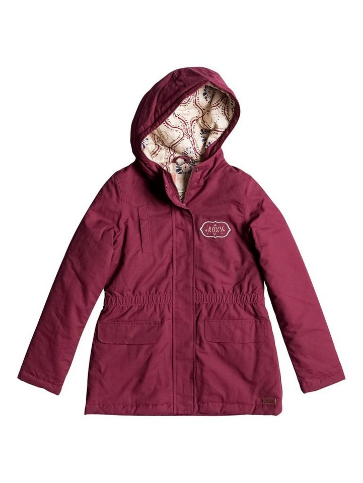 Roxy Jacke »Noisy Sunday« in red plum