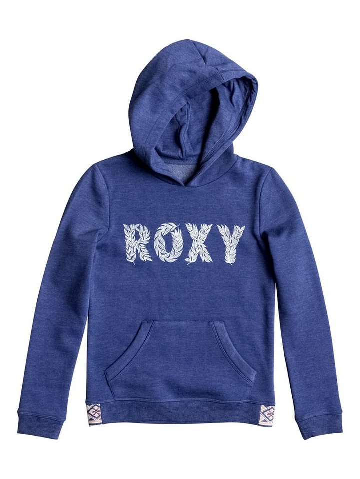 Roxy Hoodie »Riding Owls Wild Childflat« in Blue print
