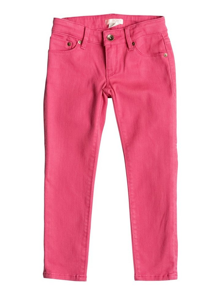 Roxy Slim Fit jean »Yellow Sun« in Paradise pink