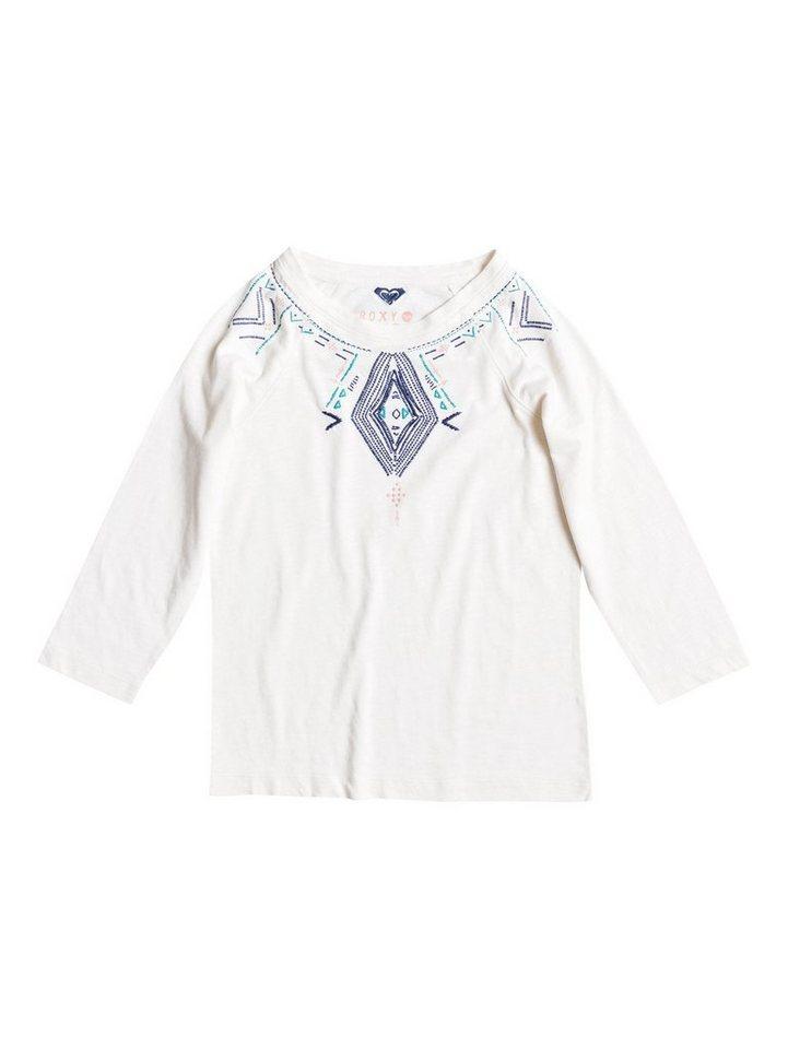 Roxy T-Shirt mit 3/4 Ärmeln »My Hologram Native Festival« in Blue print