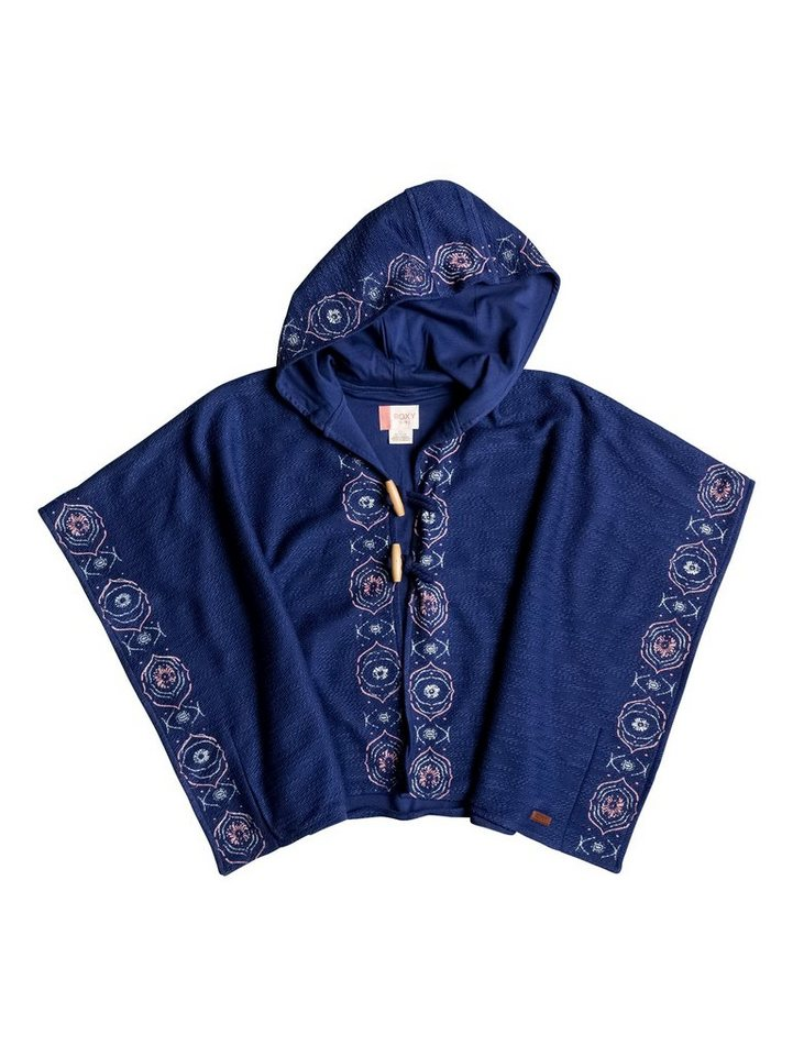 Roxy Hoodie »Sweet Shell A« in Blue print
